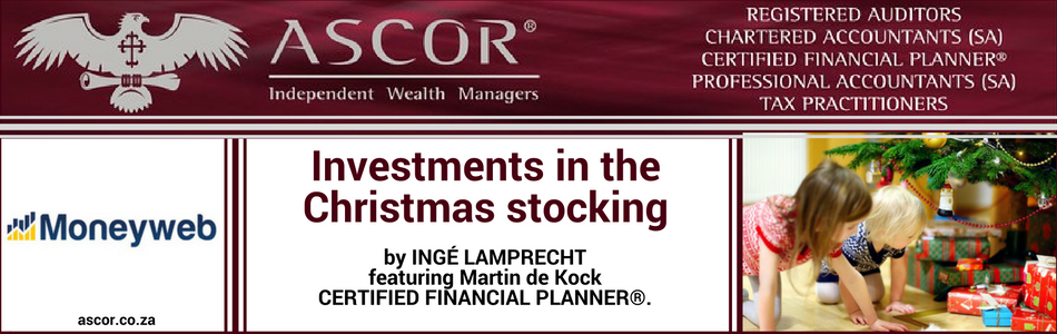 Investment in the Christmas stocking Moneyweb