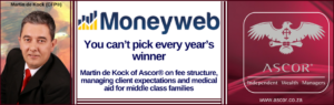 Martin de Kock You cant pick every years winner Moneyweb11June2017