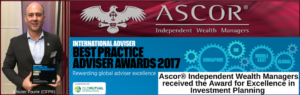 OldMutual best practice adviser awards2017