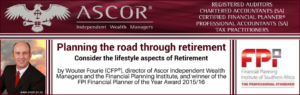 Wouter Fourie Fpi planning the road through retirement, follow up article
