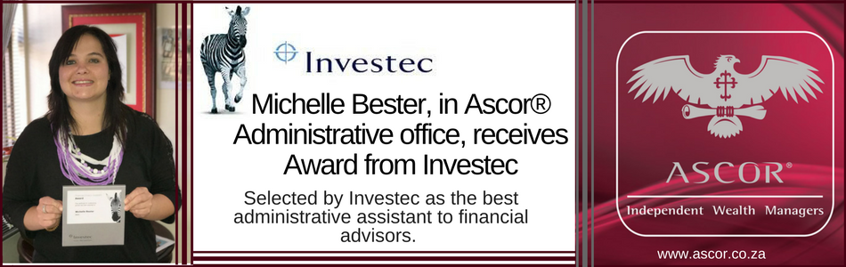 Michelle Bester award Investec2017