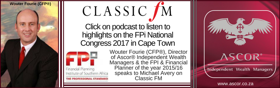 Wouter Fourie 23Oct2017 Fpi congress highlights2017