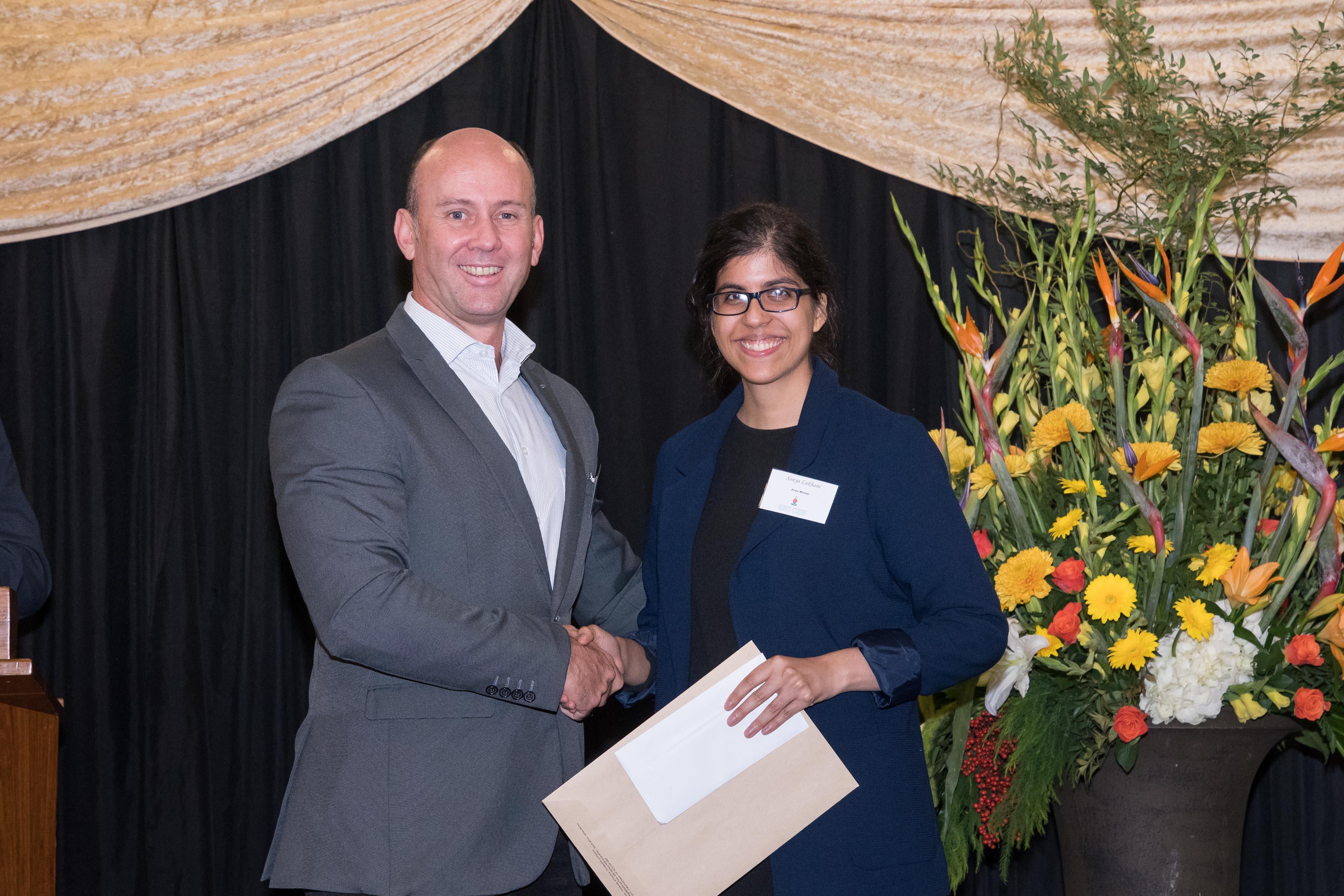UP Investment Management Award by Ascor Sonya Lakhani