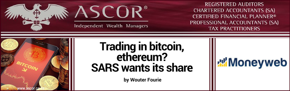 WOUTER FOURIE trading in bitcoin moneyweb