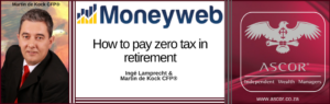 MdK how to pay zero tax in retirement