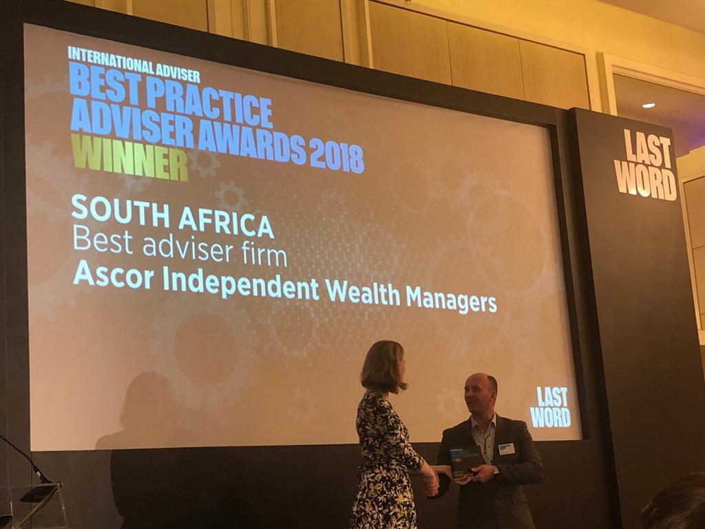 Ascor 2018 Practice Adviser Awards 1