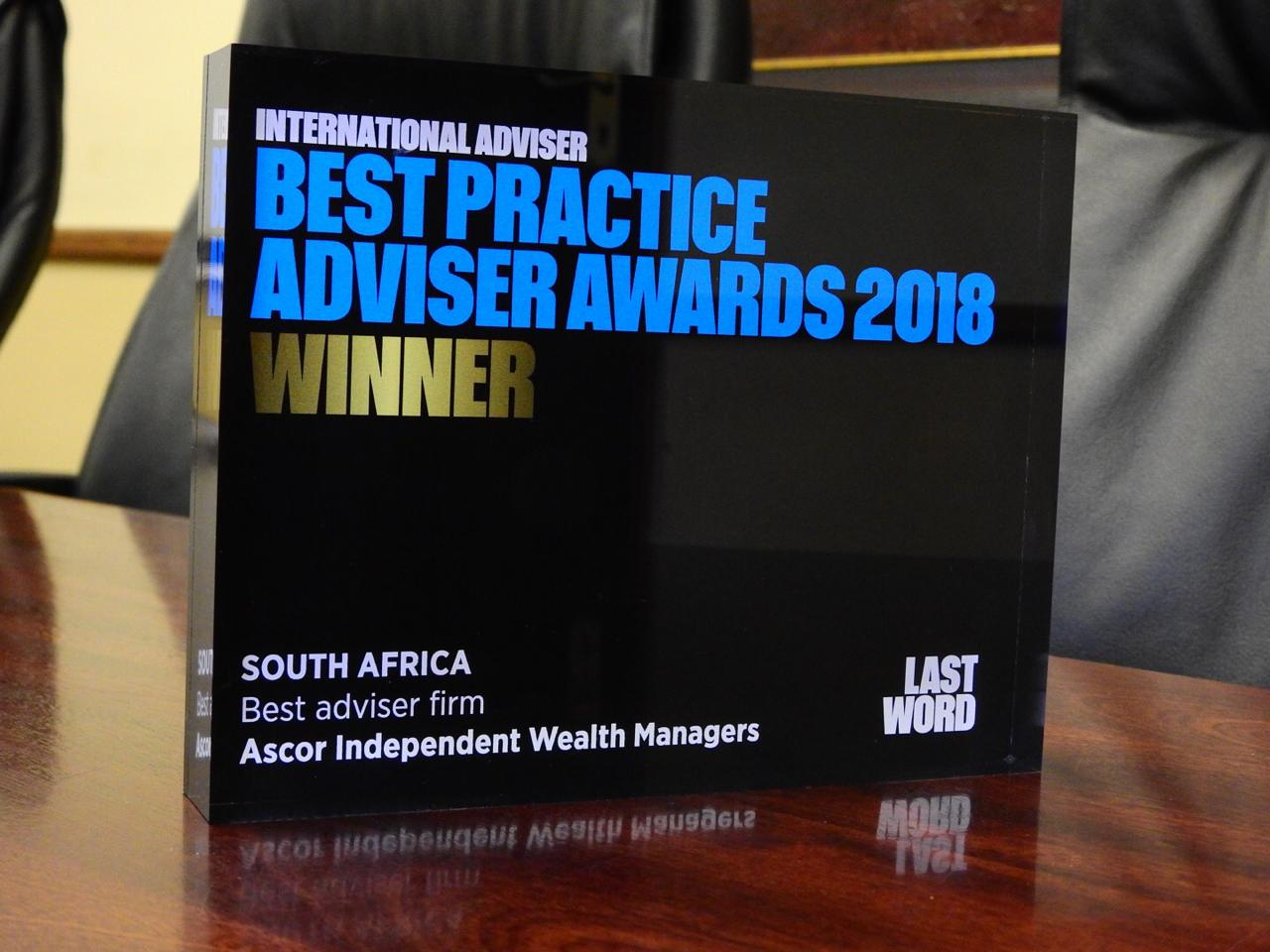 Ascor 2018 Practice Adviser Awards 3
