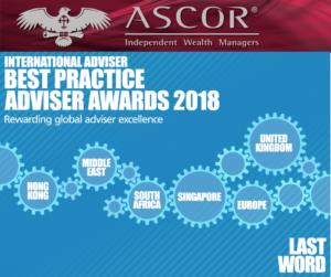 Ascor Best practice adviser award 2018