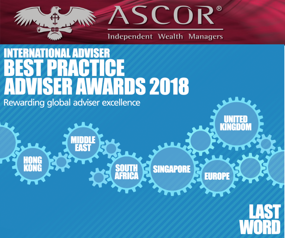 Ascor Best practice adviser award 2018