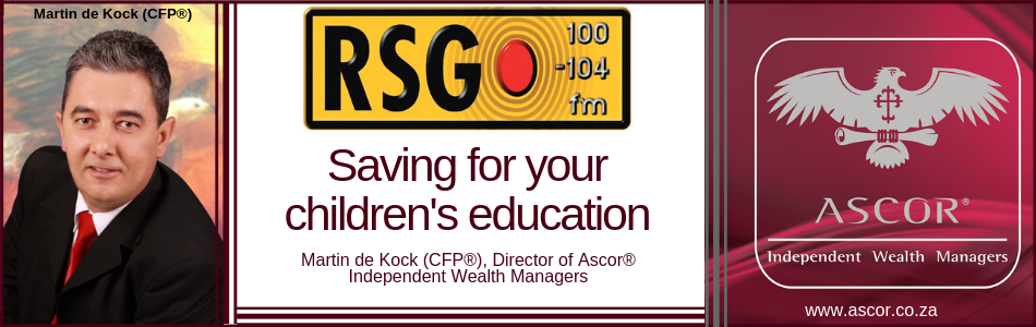 Martin RSG interview 11012019 saving for your childrens education