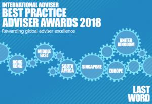 international best practise adiser awards 2018