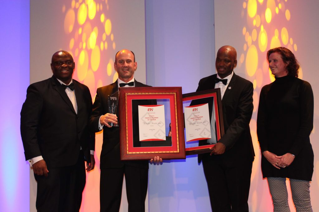 Wouter Fourie financial planner of the year 2015