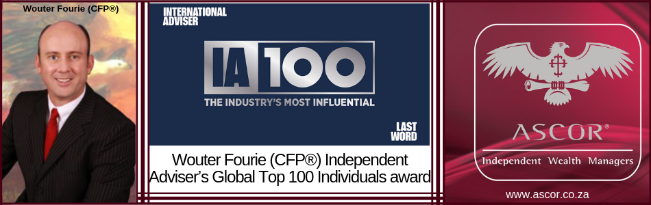 Wouter Fourie Independent Adviser's Global Top 100 Individuals