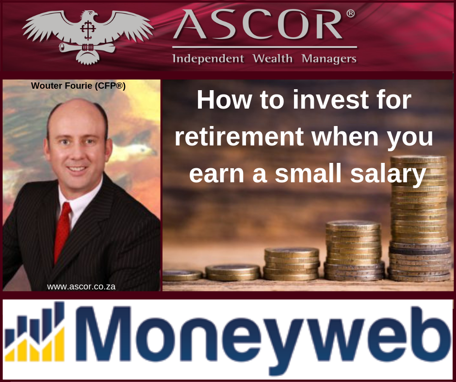 Wouter How to invest for retirement when you earn a small salary moneyweb 2018 (1)