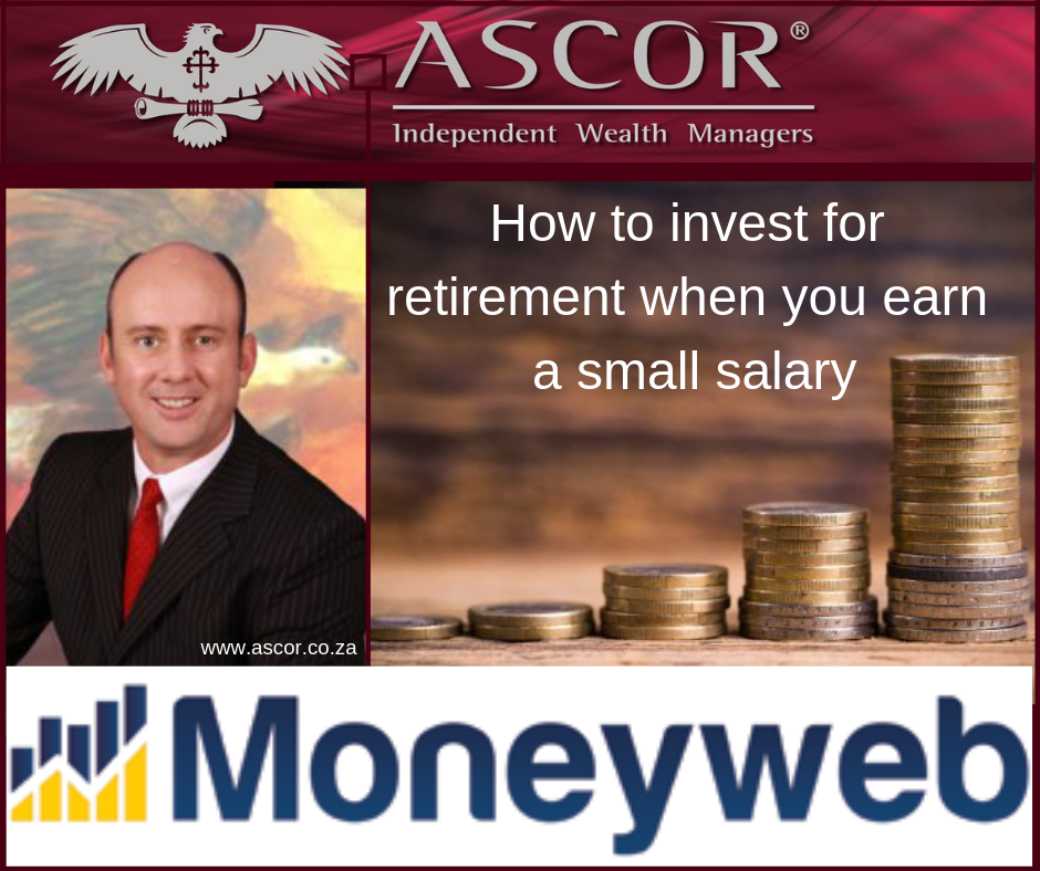 Wouter How to invest for retirement when you earn a small salary moneyweb 2018