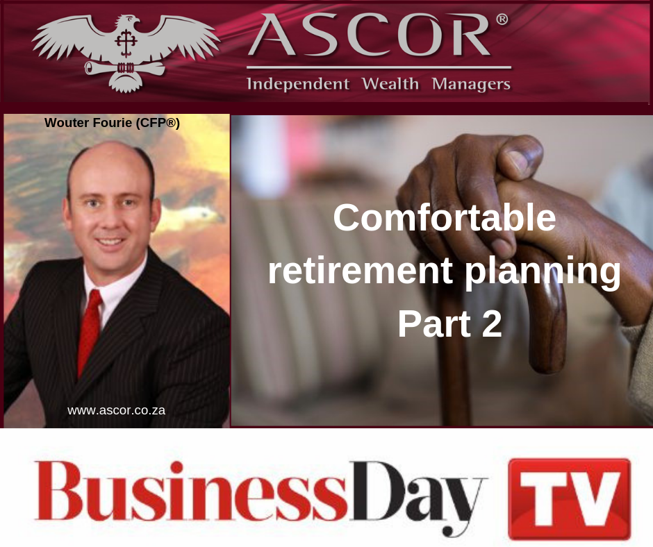 Wouter BusinessDayTV Comfortable retirement planning Part 2