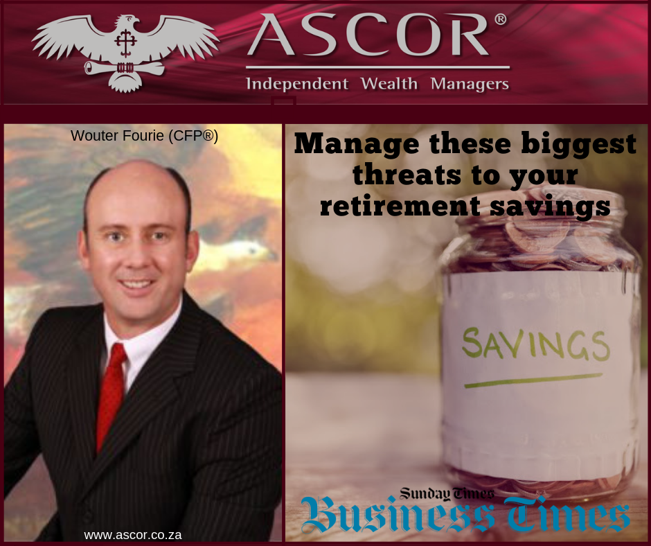 Wouter Sunday times manage treats to your retirement savings 23062019