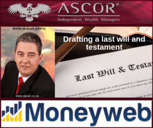 Martin last will and testament 82019 moneyweb