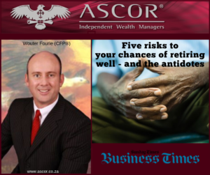 Wouter Five risks to your chances of retiring well and the antidotes 06102019