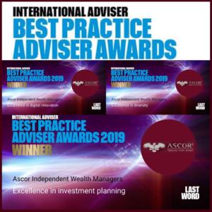 Ascor best practice adviser awards