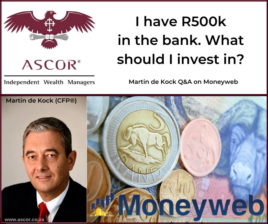 Martin de Kock Q&A on moneyweb 10Feb2020