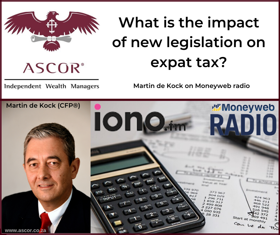 Martin de Kock the impact of new legislation on expat tax moneyweb 25Feb2020