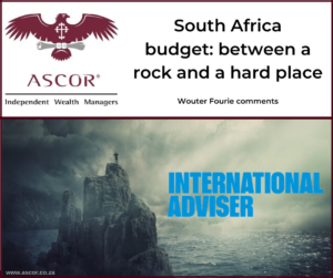 Wouter Fourie International adviser comment feb2020