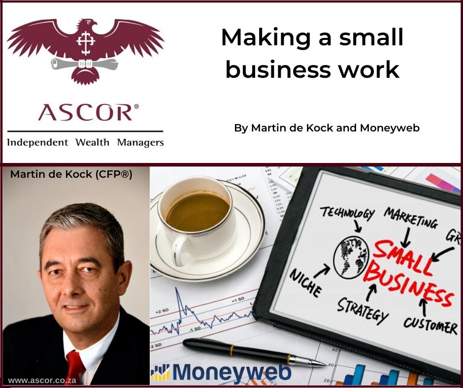 Martin de Kock making a small business work 02072020