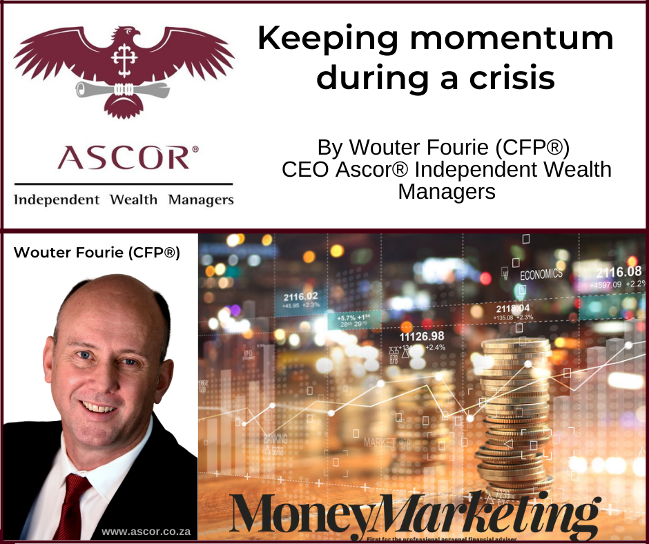 Wouter Fourie Moneymarket Keeping momentum during a crisis 31082020