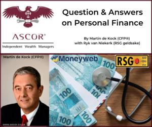Martin de Kock q&a on personal finance 03102020