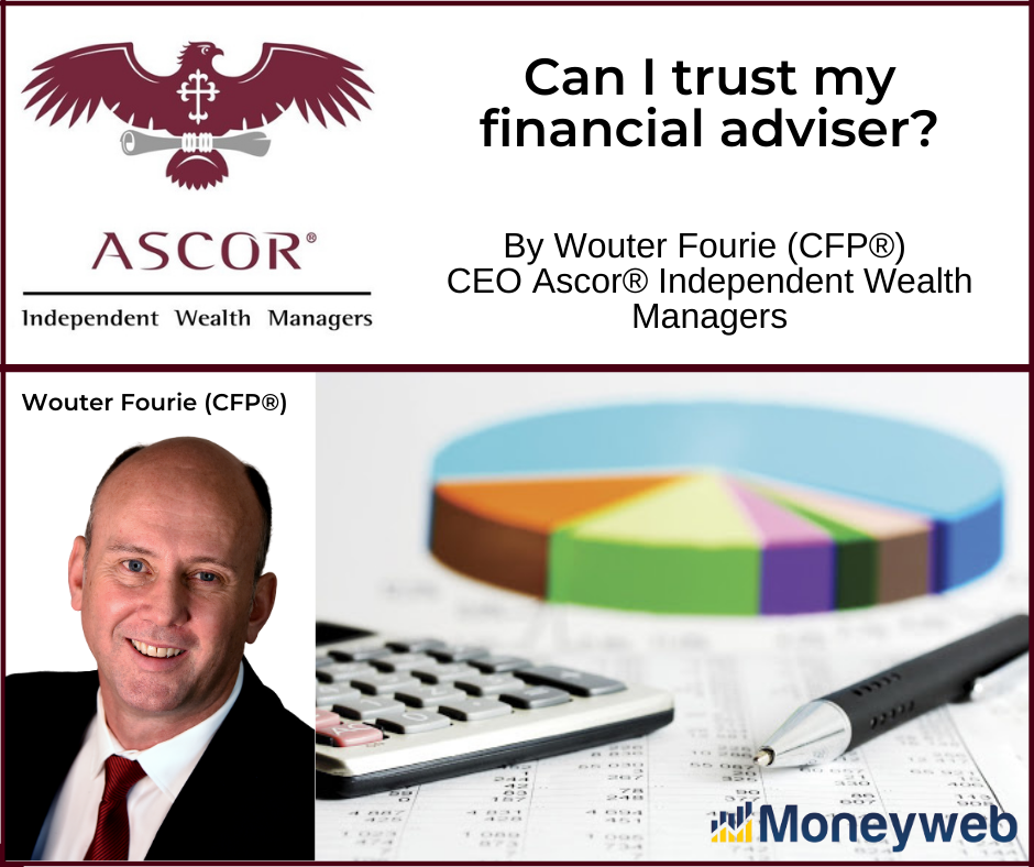 Wouter Fourie Can I trust my financial adviser 17022021