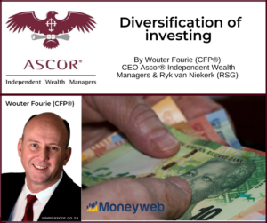 Wouter Fourie Diversification of investing June2021