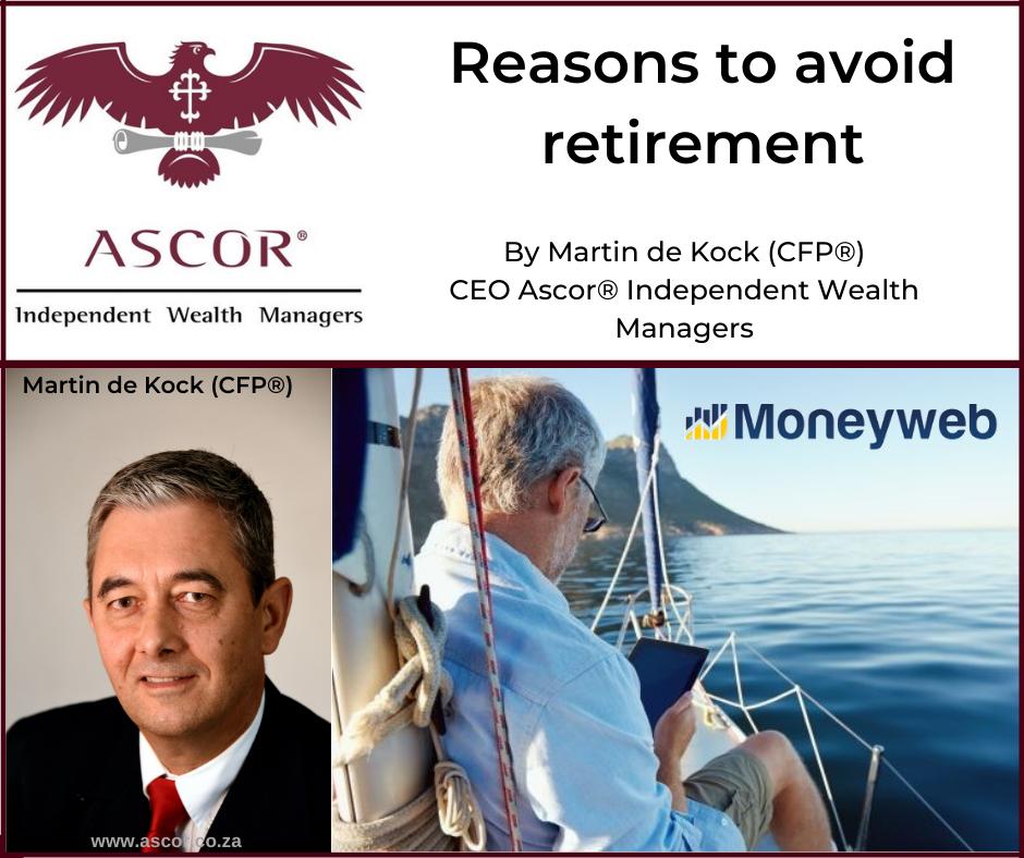 Martin de Kock Reasons to avoid retirement 5Oct2021